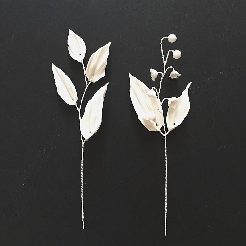 リリーピン(White) 2set