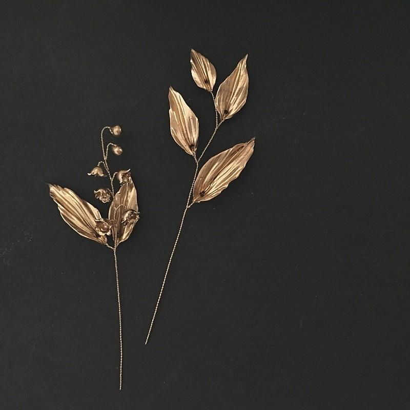 リリーピン(Gold) 2set