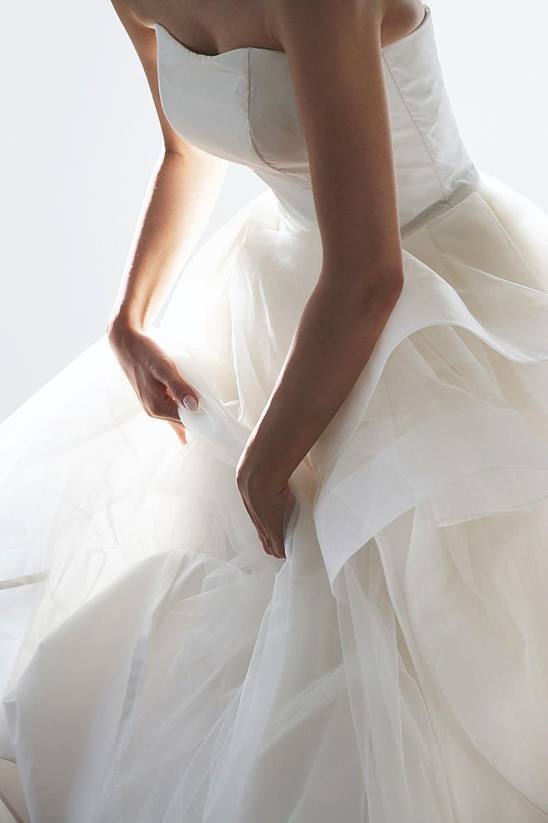 organgy taffeta dress
