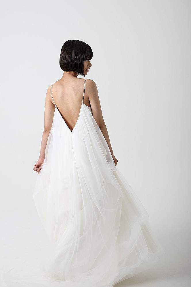 camisole tulle dress