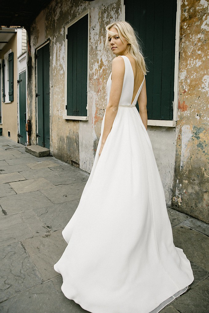 Tahlula Solid Gown