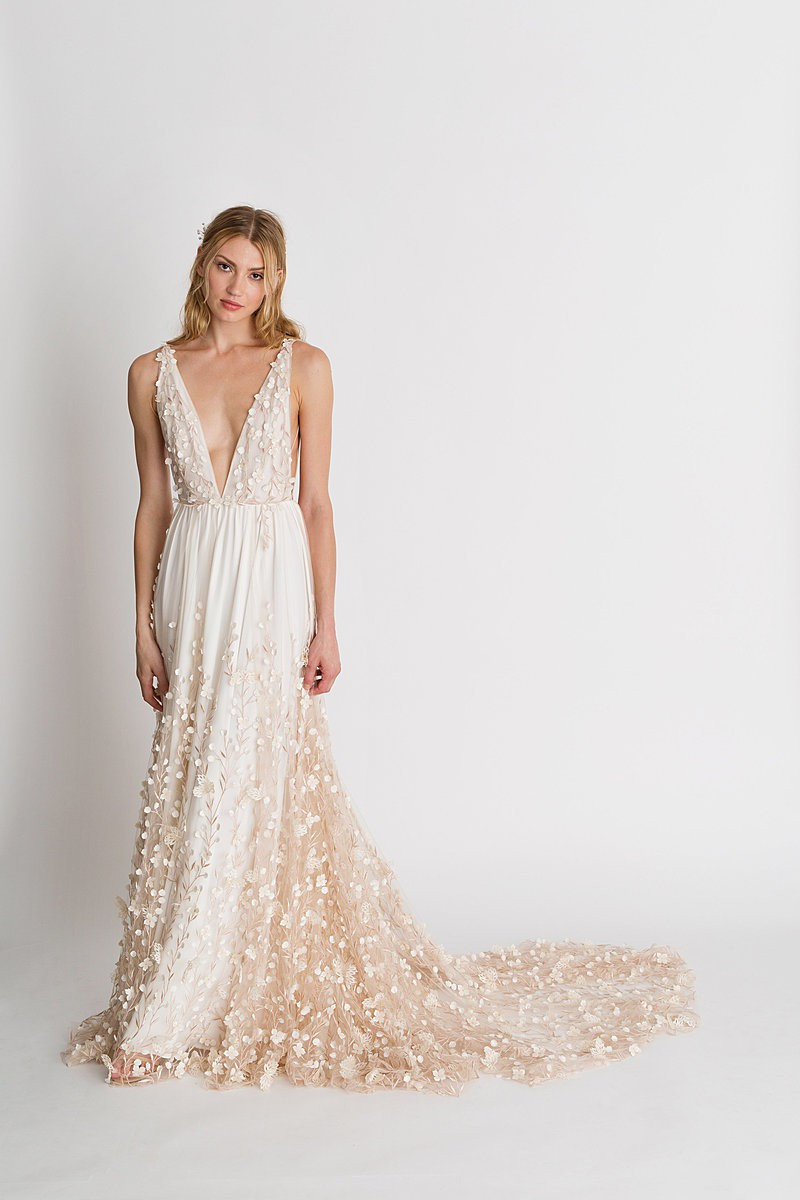 Iris Floral Gown