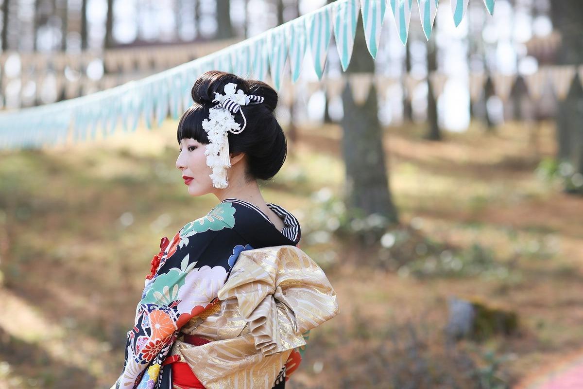 新郎新婦和装お支度 新日本髪結