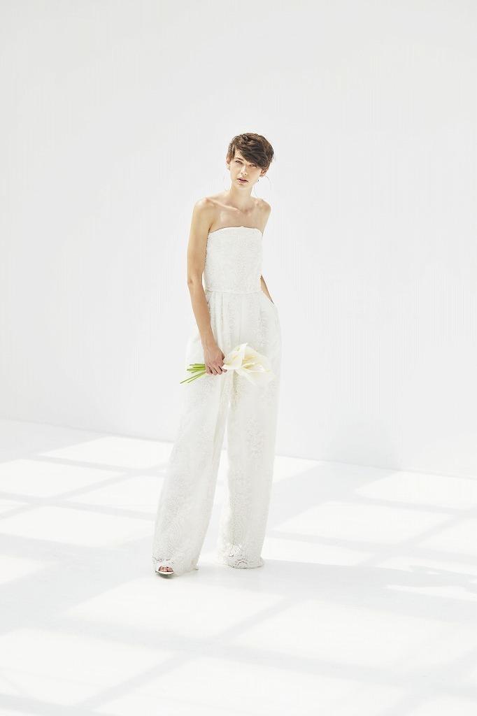 ビジューパンツドレス