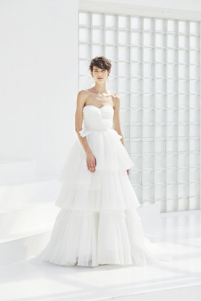ティアードプリーツドレス