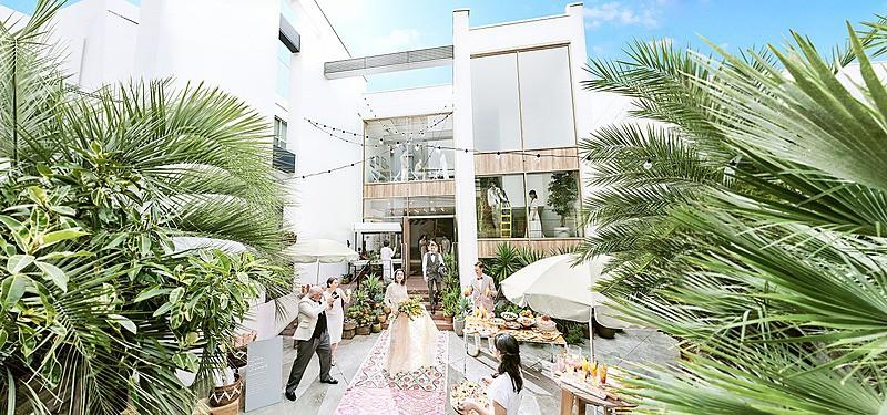 THINGS Aoyama Organic Garden. dth